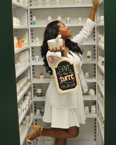 Save the date concept for Pharmacy graduation invitations.