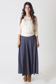 #Nectar Clothing          #Skirt                    #Spellbound #Print #Maxi #Skirt                     Spellbound Geo Print Maxi Skirt                                               http://www.seapai.com/product.aspx?PID=716207
