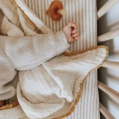 Sweetest little details 〰 - [lace baby blanket / goldenrod] #baby #bed #crib #nursery #kidsroom #blanket #baby#organic #gauze #muslin #natural #cotton #lace #babygifts #minimal #heirloom #willaby #Regram via @www.instagram.com/p/B2rvCtjhh19/ Cute Kids, Cute Babies, Cocoon, Bump Photos, Baby Steps, Baby Fever, Baby Gifts, Little Ones, Blanket
