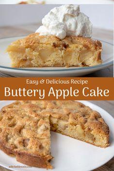 Apple Cake Recipes, Delicious Cake Recipes, Tart Recipes, Easy Cake Recipes, Cheesecake Recipes, Cupcake Recipes, Yummy Cakes, Baking Recipes, Dessert Recipes