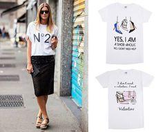 Camisetas #cool #FashionTByMaria para combinar tus #outfits #casualchic www.stylesempiter... #tshirts #fashion #madeinspain #trendy #fashionista #trends
