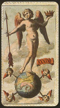 Minchiate Etruria Tarot - The World