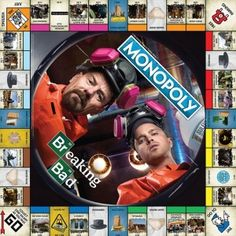 """Players will want to """"tread lightly"""" to buy, sell, and trade properties to be the last one standing in this risky version of Monopoly based on AMC's hit series Breaking Bad!"""
