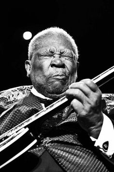 B.B. King was a blues singer, guitarist, songwriter, and record producer. He went from small town Mississippi boy to the King of Blues. He was also inducted into the Rock and Roll Hall of Fame in 1987. He devoted his life to his music and played tirelessly up until his death. He changed the sound of rock of roll and made it his own.
