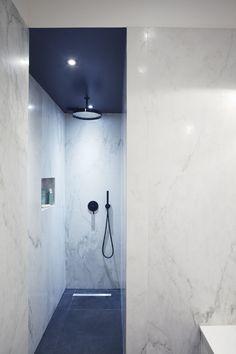 Salle de douche -Appartement parisien de 150m2 GCG Architectes