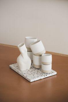 #ceramics #ceramist #ceramic #clay #stoneware #homeaccessories #madeinvienna #madeinaustria #conceptstore #tableware #diesellerie #coffeecups #teacups #sellerievienna #vienna #wien #wienneubau #keramikwihann #barbarawihann #ceramicslovers #andreakollar #terrazzo #porcelain #okdesign Ok Design, Shops, Ceramic Clay, Terrazzo, Teacups, Vienna, Stoneware, Coffee Cups, Home Accessories