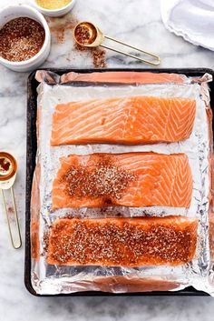 Maple-Crusted Salmon makes one delicious dinner or date night dish. Salmon Recipes, Fish Recipes, Seafood Recipes, Cooking Recipes, Healthy Recipes, Healthy Meals, Roasted Vegetables With Chicken, 3 Ingredient Dinners, Maple Glazed Salmon