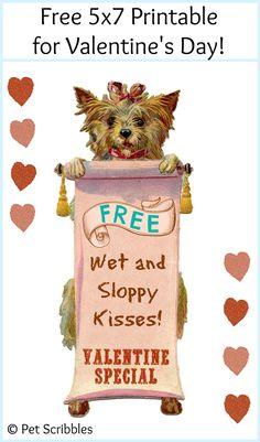 Valentine's Day Free Printable - Deja Vue Designs