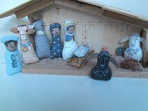 Christmas Nativity, Holiday Decor, Tableware, Winter, Baby, Tela, Christmas Things, Felting, Xmas