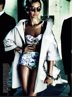 Joan Smalls Is Raw Elegance By Mario Testino For Vogue Brazil June 2013 - 3 Sensual Fashion Editorials | Art Exhibits - Anne of Carversville Womens News
