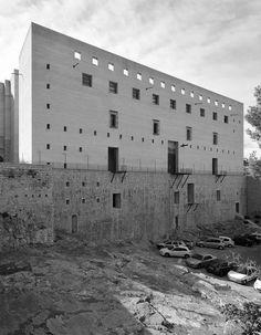 buildinghead: Giorgio Grassi - Teatro De Sagunto, Sagunto,...