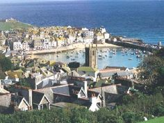 St Ives, Cornwall -- one of my favorite places in the world.     Home of the Cornish pasty, cream tea and Cornish Pisky