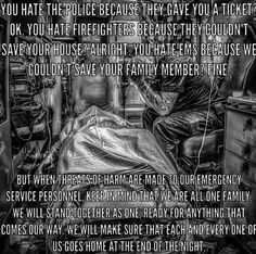 They are still heroes to me and my family 💕 Emergency Medical Technician, Emergency Medical Services, Emergency Response, Ems Humor, Nurse Humor, Work Humor, Firefighter Paramedic, Firefighter Training, Firefighter Quotes