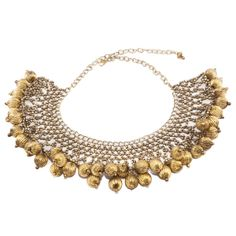 Collar ball necklace by Kasturjewels