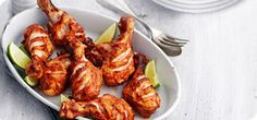 A spicy way to enjoy chicken drumsticks. In fact, the marinade is perfect for all sorts of meats and veggies.