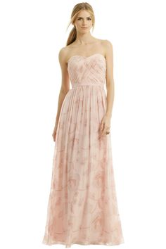 Pink Erin Fetherston dress for your bridesmaids to rent from Rent the Runway