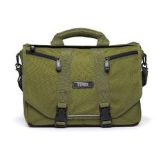 Tenba - Mini Messenger Bag -- Good layout and I like the zippers on the front flap, its a good use of the real estate.