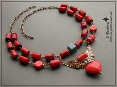 "Necklace ""Angel Heart"""