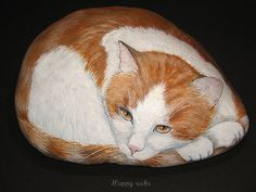 Happy rocks by rockpainting , yvette, via Flickr