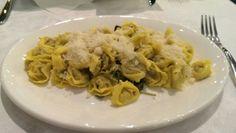 Mini tortollini covered in parmesan, loved the fresh pasta.
