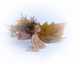 OOAK Miniature Plane-Tree Micro Fairy