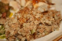 Deep South Dish: Homemade Herb Bread Dressing (Stuffing)