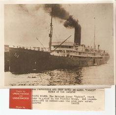 Vintage 1931 Nautical News MARITIME Press Photo British Liner Tahiti - UNDERWOOD   eBay