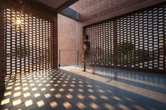 Walls That Breathe: 7 Buildings Clad in Perforated Bricks  - Architizer