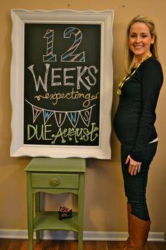 In this JOYFUL life: Watch us grow... fantastic week by week twin preg photos