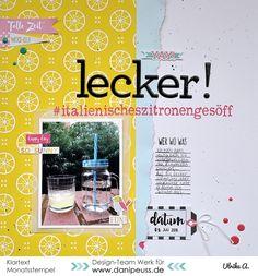 Layout mit dem #dpAugustkit16 von Ulrike für www.danipeuss.de
