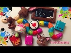 POLYMER CLAY CHARM UPDATE... Finally - YouTube