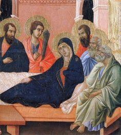 DUCCIO  BUONINSEGNA   ´´THE APOSTLES of MARIA´´.