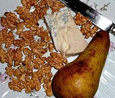 Gorgonzola Cheese, Pear and Walnut Risotto with Thermomix
