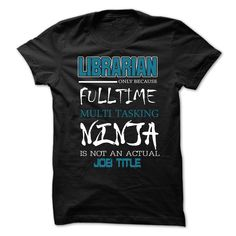"Click visit site and Check out Best Librarian Shirts. This website is top-notch.  Tip: You can search ""your first name"" or ""your favorite shirts"" at search bar on the top.  #librarian"