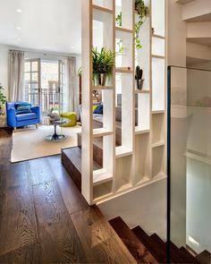 Design Hub - блог о дизайне интерьера и архитектуре: Яркий домик в Лондоне