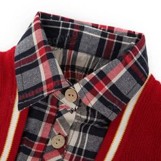 Baby Children Boys Wool Bow Thick Tie Plaid Sweater at Banggood Boys Sweaters, Kids Boys, Mothers, Parents, Button Down Shirt, Men Casual, Bows, Plaid, Tie