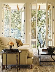 Gentil French Doors...would Only Have To Demo The Window And Could Keep The