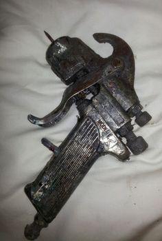 Vintage Paint Spray Gun USA Autobody Repair Car truck detail model c #UnbrandedGeneric