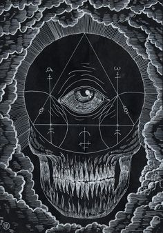eye skull triangle esoterism spirit esoteric esoterisme magic death crane ocular