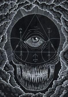 eye skull triangle esoterism spirit esoteric esoterisme magic death crane ocular