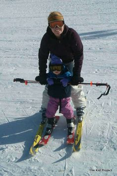 Ski schooling - that first day with 2 and 3 year olds