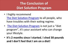Check Out Another Hot Tips For Weight Loss at http://howtoloseweight-tips.com/my-experience-with-the-diet-solution-program/