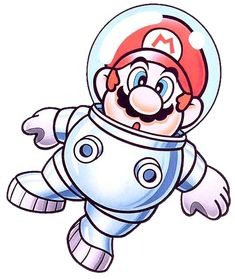 Astro Mario from Super Mario Land 2 6 Golden Coin Super Mario Land, New Super Mario Bros, Super Mario Brothers, Super Smash Bros, Dope Cartoon Art, Dope Cartoons, Mario Bros., Mario And Luigi, Character Concept