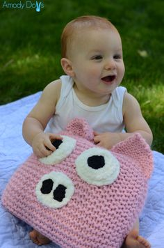Pig pillow!
