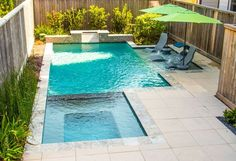 53 Extraordinary Custom Build Plunge Pool Ideas - Page 42 of 53 pool ideas 53 Extraordinary Custom Build Plunge Pool Ideas Backyard Pool Designs, Small Backyard Pools, Small Pools, Backyard Garden Design, Swimming Pools Backyard, Swimming Pool Designs, Backyard Landscaping, Small Yards With Pools, Pool Spa