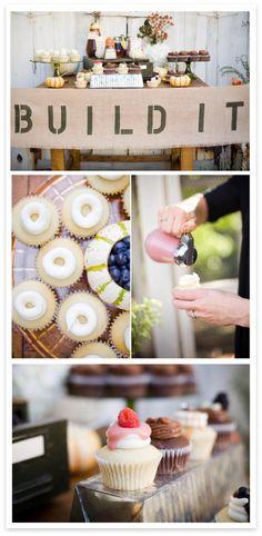DIY Cupcake Station!