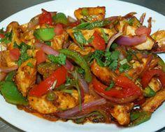 Chicken Chili and Chicken Sekuwa (traditional Nepali Chicken Skewers)