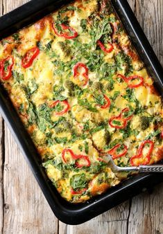 Vegetarian Recipes, Cooking Recipes, Healthy Recipes, Quiche, Norwegian Food, Dinner For Two, Casserole Recipes, Food To Make, Main Dishes