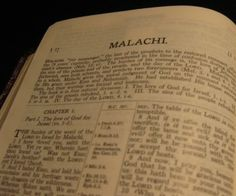 The Book of Malachi explained