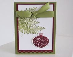 2011 Stampin Up Christmas Cards | Stampin Up Stampin Up Christmas Card Sharing ~ Part II photo